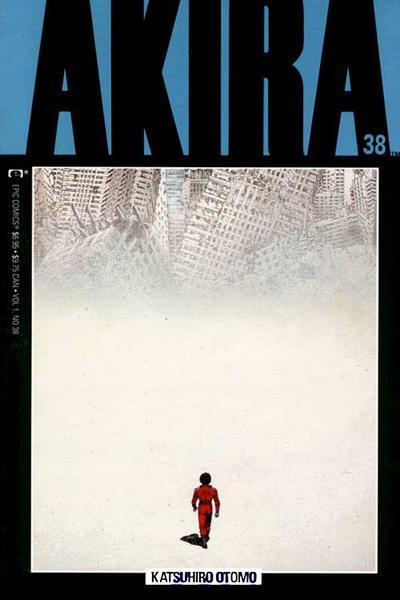 Cover for Akira (Marvel, 1988 series) #38