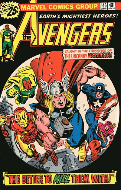 Cover for The Avengers (Marvel, 1963 series) #146 [25¢ Cover Price]