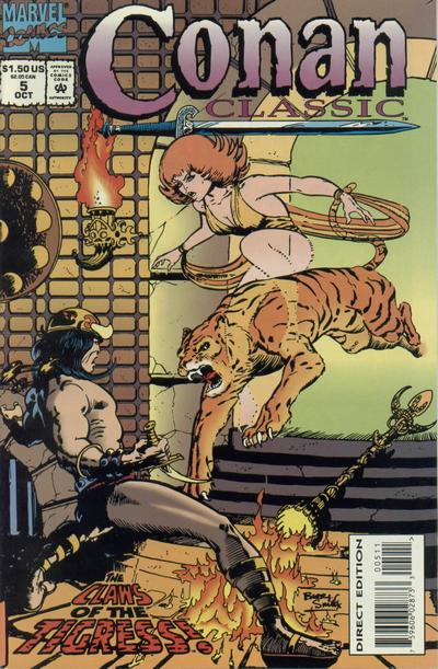 Cover for Conan Classic (Marvel, 1994 series) #5