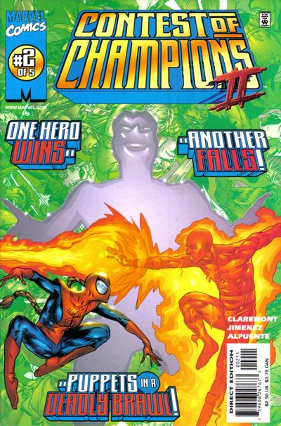 Cover for Contest of Champions II (Marvel, 1999 series) #2