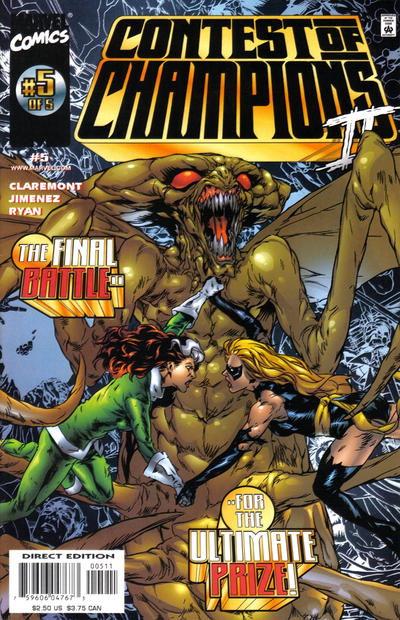 Cover for Contest of Champions II (Marvel, 1999 series) #5