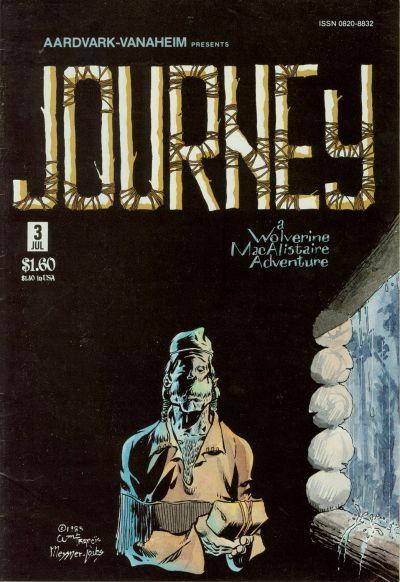 Cover for Journey (Aardvark-Vanaheim, 1983 series) #3