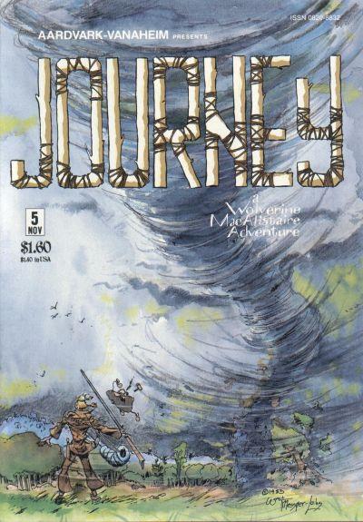 Cover for Journey (Aardvark-Vanaheim, 1983 series) #5