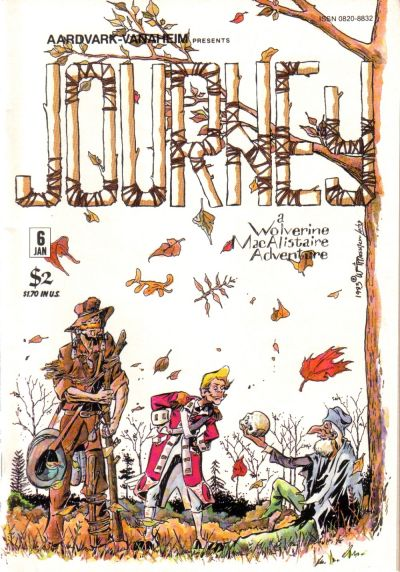 Cover for Journey (Aardvark-Vanaheim, 1983 series) #6