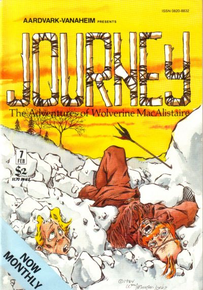 Cover for Journey (Aardvark-Vanaheim, 1983 series) #7