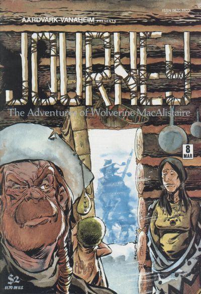 Cover for Journey (Aardvark-Vanaheim, 1983 series) #8
