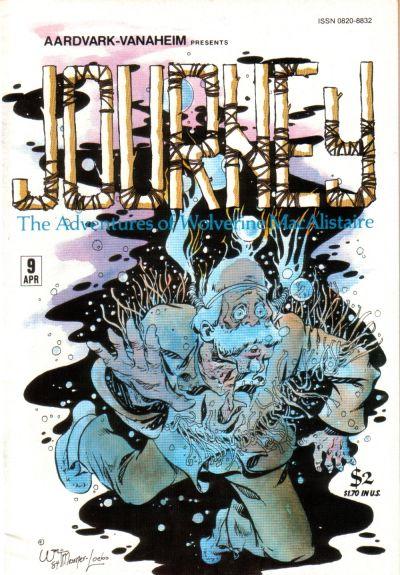 Cover for Journey (Aardvark-Vanaheim, 1983 series) #9
