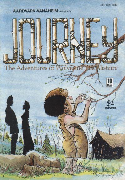 Cover for Journey (Aardvark-Vanaheim, 1983 series) #10
