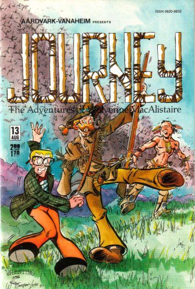 Cover for Journey (Aardvark-Vanaheim, 1983 series) #13