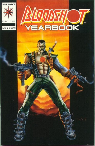Cover for Bloodshot Yearbook (Acclaim / Valiant, 1994 series) #1