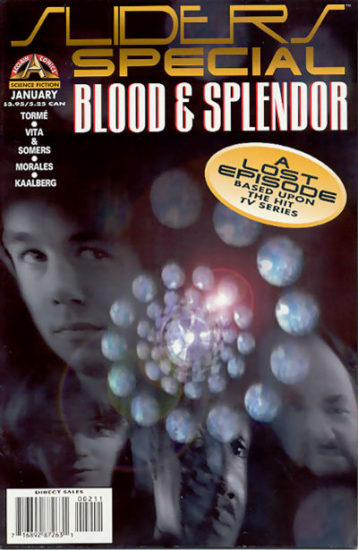 Cover for Sliders Special (Acclaim / Valiant, 1996 series) #2