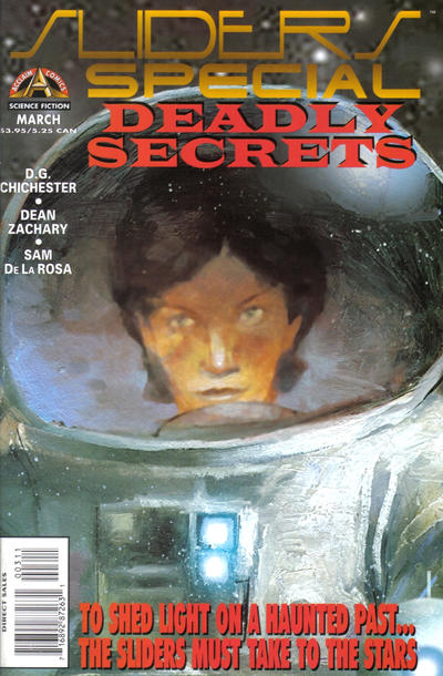 Cover for Sliders Special (Acclaim / Valiant, 1996 series) #3