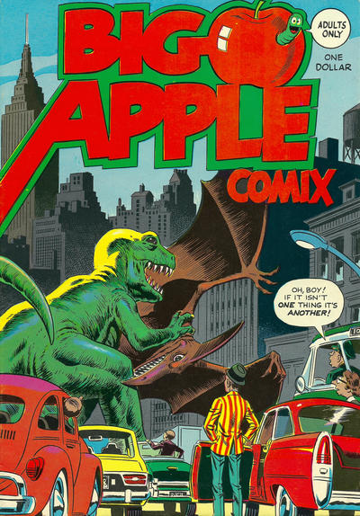 Cover for Big Apple Comix (Big Apple Productions, 1975 series)