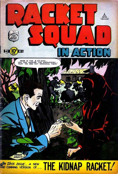 Cover for Racket Squad in Action (Charlton, 1952 series) #6