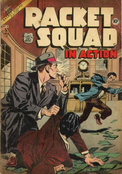 Cover for Racket Squad in Action (Charlton, 1952 series) #8