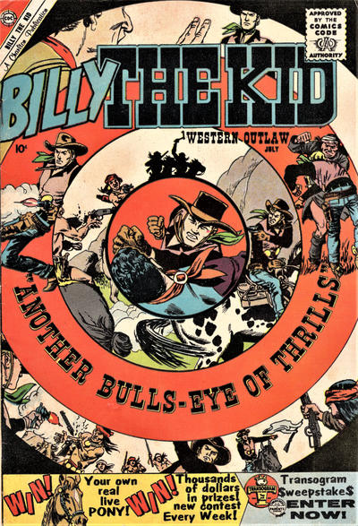 Cover for Billy the Kid (Charlton, 1957 series) #23