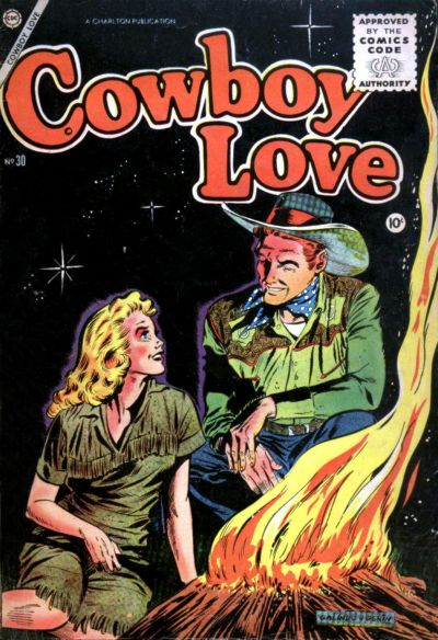 Cover for Cowboy Love (Charlton, 1955 series) #30