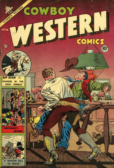Cover for Cowboy Western Comics (Charlton, 1953 series) #46
