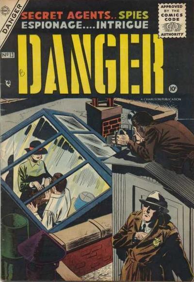 Cover for Danger (Charlton, 1955 series) #13