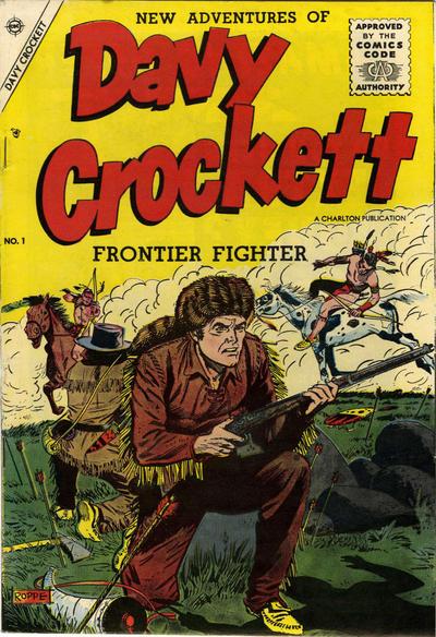 Cover for Davy Crockett (Charlton, 1955 series) #1