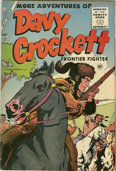 Cover for Davy Crockett (Charlton, 1955 series) #2
