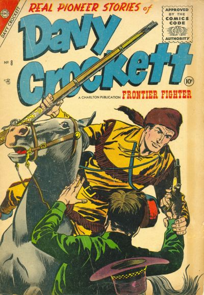 Cover for Davy Crockett (Charlton, 1955 series) #8
