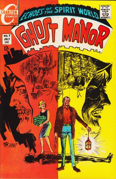 Cover for Ghost Manor (Charlton, 1968 series) #7