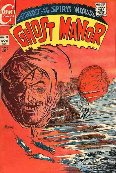 Cover for Ghost Manor (Charlton, 1968 series) #9