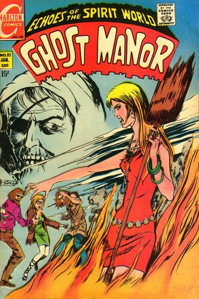 Cover for Ghost Manor (Charlton, 1968 series) #10