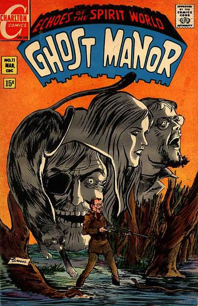 Cover for Ghost Manor (Charlton, 1968 series) #11