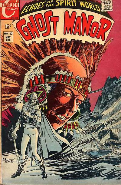 Cover for Ghost Manor (Charlton, 1968 series) #12