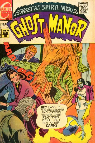 Cover for Ghost Manor (Charlton, 1968 series) #16