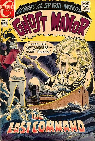 Cover for Ghost Manor (Charlton, 1968 series) #17