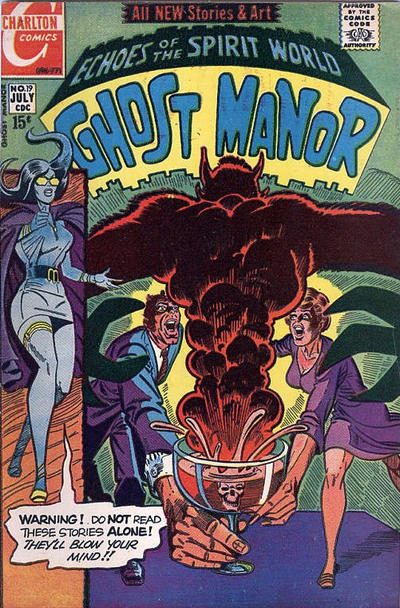 Cover for Ghost Manor (Charlton, 1968 series) #19