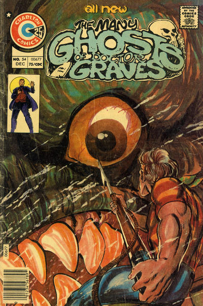 Cover for The Many Ghosts of Dr. Graves (Charlton, 1967 series) #54