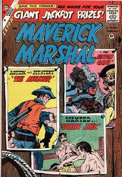 Cover for Maverick Marshal (Charlton, 1958 series) #4