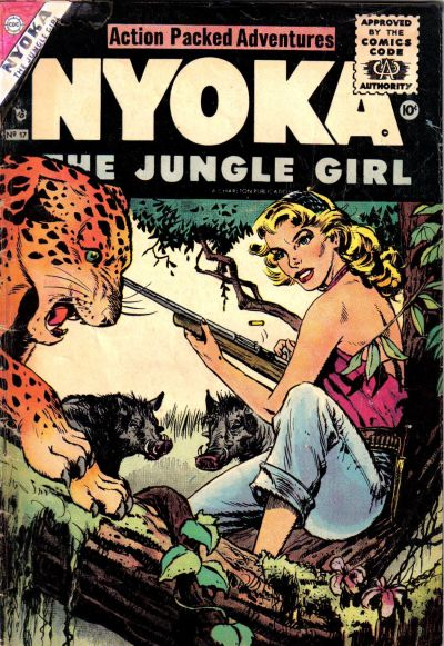 Cover for Nyoka the Jungle Girl (Charlton, 1955 series) #17