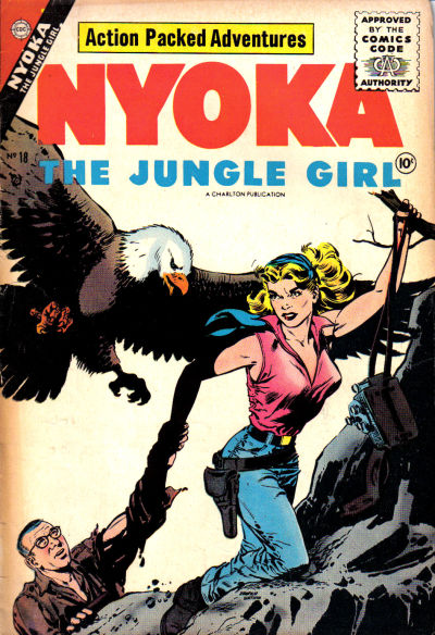 Cover for Nyoka the Jungle Girl (Charlton, 1955 series) #18