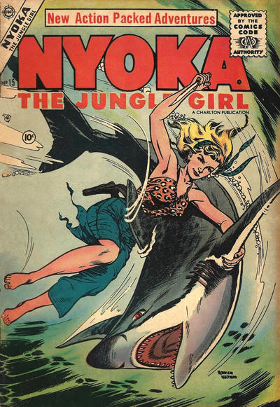 Cover for Nyoka the Jungle Girl (Charlton, 1955 series) #15