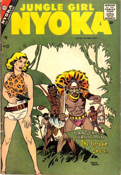 Cover for Nyoka the Jungle Girl (Charlton, 1955 series) #22