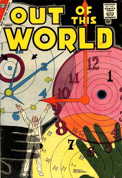 Cover for Out of This World (Charlton, 1956 series) #9