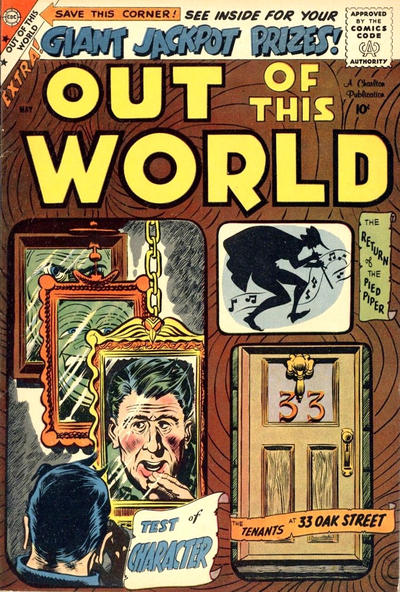 Cover for Out of This World (Charlton, 1956 series) #13