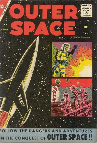 Cover for Outer Space (Charlton, 1958 series) #19
