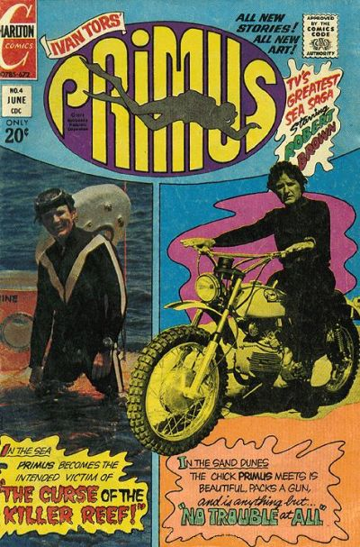 Cover for Primus (Charlton, 1972 series) #4