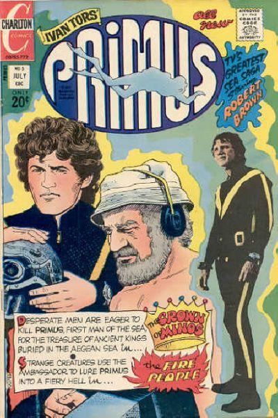Cover for Primus (Charlton, 1972 series) #5
