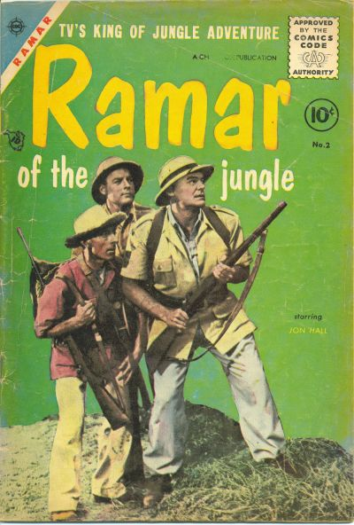 Cover for Ramar of the Jungle (Charlton, 1955 series) #2