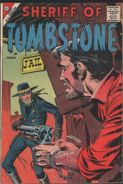 Cover for Sheriff of Tombstone (Charlton, 1958 series) #2