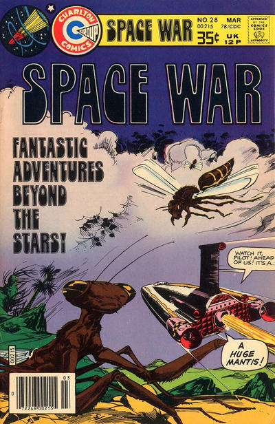 Cover for Space War (Charlton, 1978 series) #28