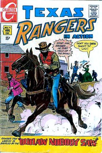 Cover for Texas Rangers in Action (Charlton, 1956 series) #79
