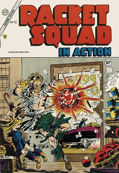 Cover for Racket Squad in Action (Charlton, 1952 series) #12